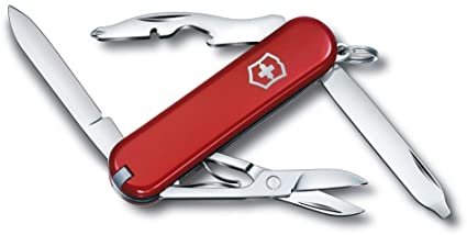 Amazon.com: Victorinox Classic Rambler roja [vic06363 ...