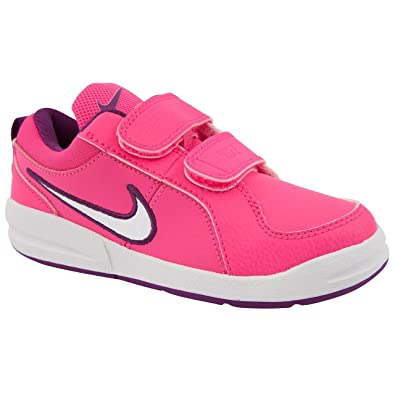 online retailer 7df2b aa287 NIKE Girl Junior Pico 4 Pink Casual Trainers Size 2
