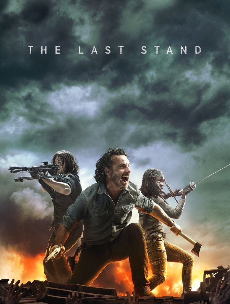 Amazoncom Xxw Artwork The Walking Dead Season 8 Poster