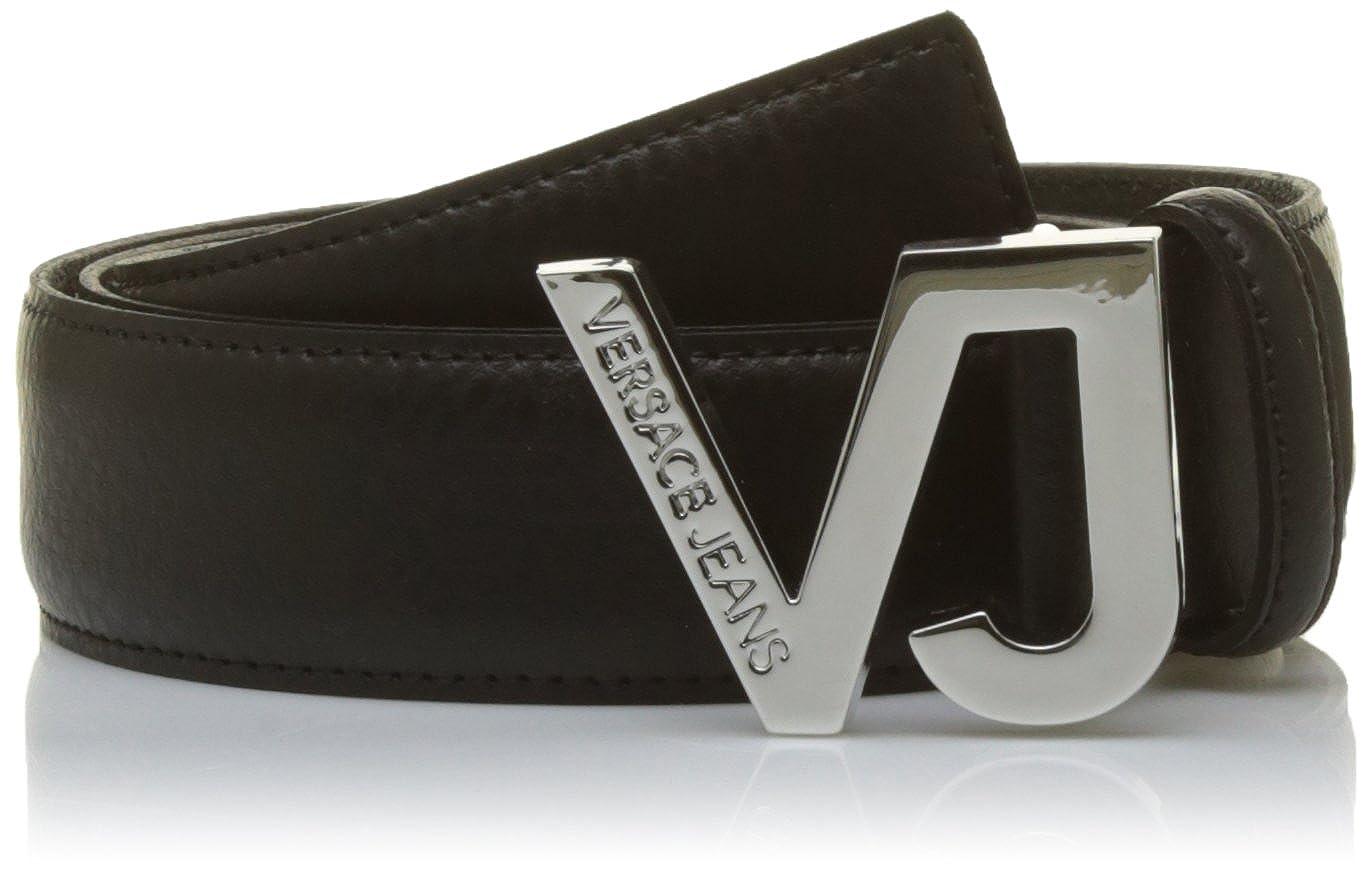 Versace Jeans Ed8ysbf01, Ceinture Homme, Noir (Nero E899), (Taille  Fabricant  110)  Amazon.fr  Vêtements et accessoires ead012c555c