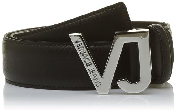 Versace Jeans Ed8ysbf01, Ceinture Homme, Noir (Nero E899), (Taille Fabricant 48d6eca62a1