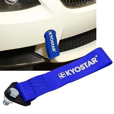 Kyostar Universal High Strength Nylon Tow Eye Strap (Blue): Automotive