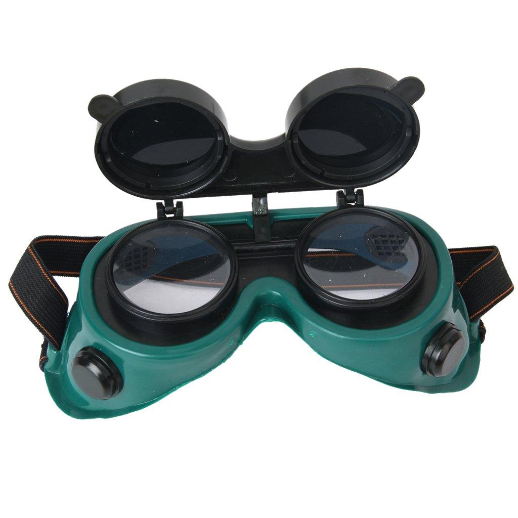 Verdes Gafas Flip Objetivo Hacia Arriba Soldadura Gafas Generic
