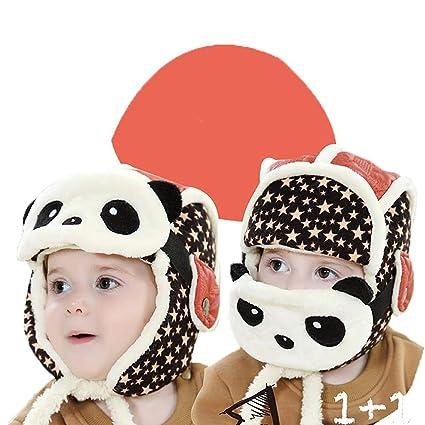 Pour enfant sans bord Automne et Hiver coréen Version Lei Feng Chapeau en  velours Plus chaud 6c196ad39fc