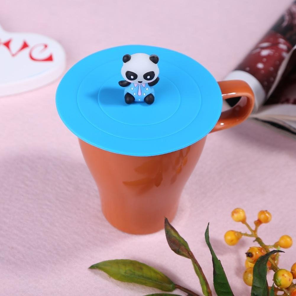 Matefield silicone resistente al calore a tenuta Cup coperchi riutilizzabile cucina sigillato copertura A