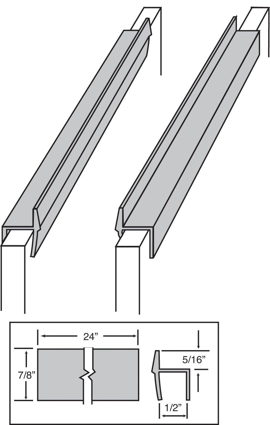 Filing Cabinet Rails For Drawer Avie Home