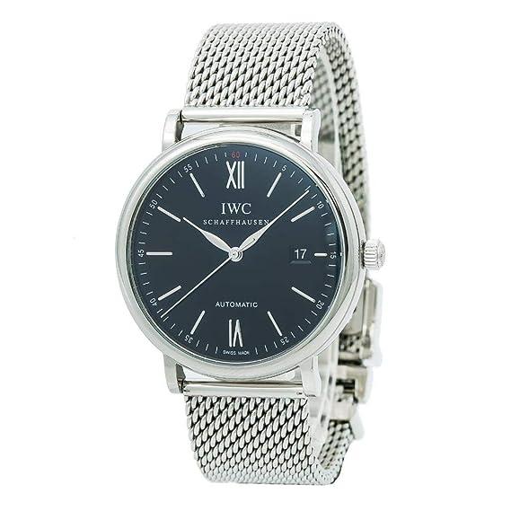 IWC Portofino Swiss-Automatic IW356506 - Reloj para hombre (certificado de autenticidad)