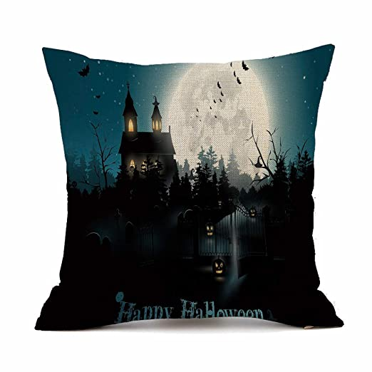 MAYOGO Fundas Cojines 45x45 Estampado Halloween Decorativos ...