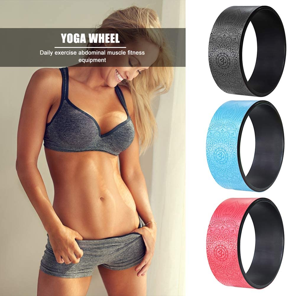 Ideal Back Stretcher Comfortable And Durable Yoga Balance Accessories for Added Flexibility Hughdy Yoga Straps for Yoga Wheels