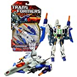 Hasbro Year 2010 Transformers Generations Deluxe Class 6 Inch Tall Robot Figure - Decepticon THUNDERWING with Detachable Recon Drone, Missile Launchers and 2 Missiles (Vehicle Mode: Stealth Jet)