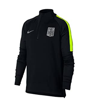 S Neymar Noir Enfant Sweat Dry Nike Garçon Ml De Football Squad qOnx1vF