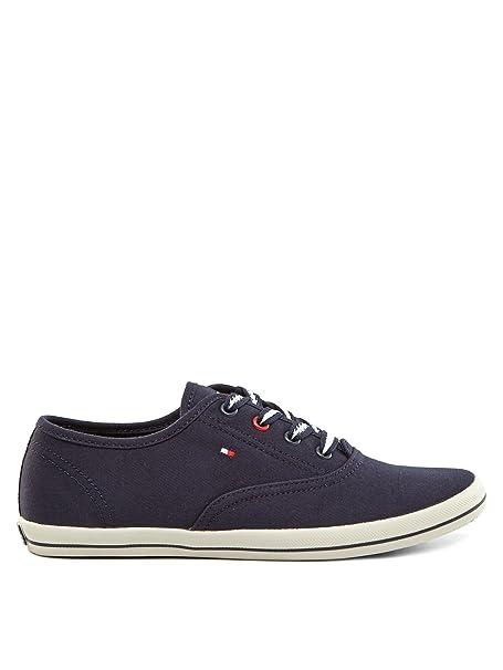 Tommy Hilfiger Footwear Victoria Mujer Zapatillas azul oscuro 38: Amazon.es: Ropa y accesorios