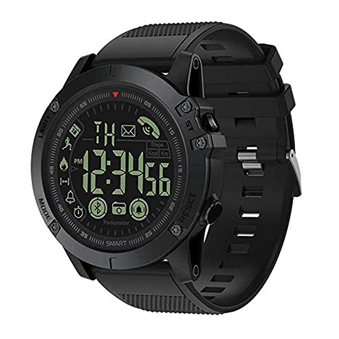 T1 Tact Military Grade Super Tough Smart Watch Outdoor Sports Talking Watch Mens Digital Sports Watch