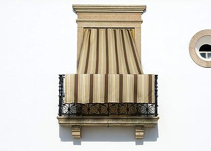 Tende Con Anelli Per Esterni.Coingrostex Tende Da Sole Per Esterno Con Anelli Misura 145x300cm