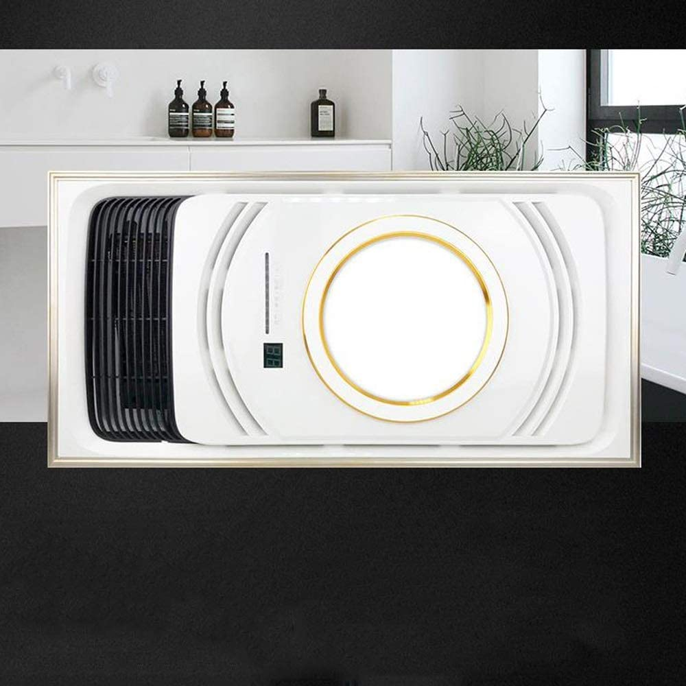 Amazon Com Dmpoy Modern Simplicity Fashion Integrated Ceiling Heat Lamp Multi Function Heating Lighting Ventilation Ceiling Heater Lamp Household Bathroom Waterproof Exhaust Cold Air Drying Heater Home Kitchen