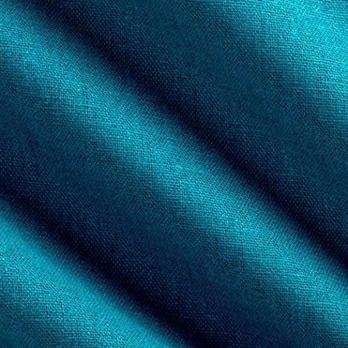 Robert Kaufman Kaufman Brussels Washer Linen Blend Ocean Fabric By The Yard, Ocean