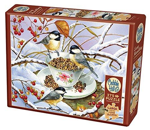 Chickadee Tea - 275 Piece Easy Handling Jigsaw Puzzle (Chickadee Tea)