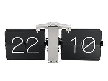 Karlsson Uhren karlsson ka5601bk flip uhr no standfuß metall schwarz