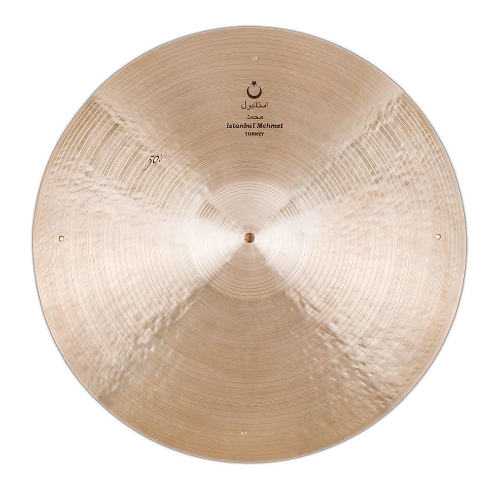 Istanbul Mehmet Cymbals Jazz Series 50's Nostalgia Ride Sizzle Cymbals N50-RSZ (22