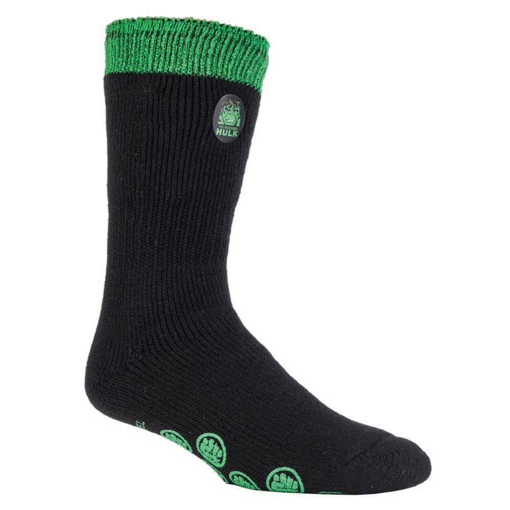 3eca363f2bd94 HEAT HOLDERS Les hommes et les garçons Marvel chaussettes anti-dérapantes  thermiques chaussettes MHHTCS