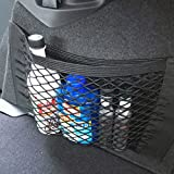 DeemoShop Car Auto Back Rear Trunk Seat Elastic String Net Mesh Storage Bag Pocket Cages DRO
