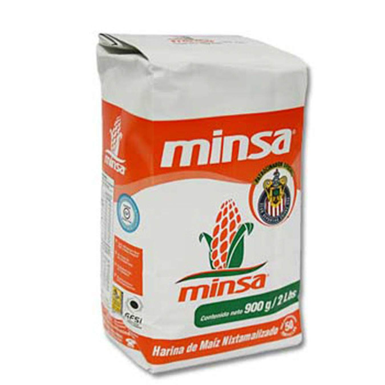 (Pack of 10) Minsa Corn Masa Corn Flour, 1.8lbs