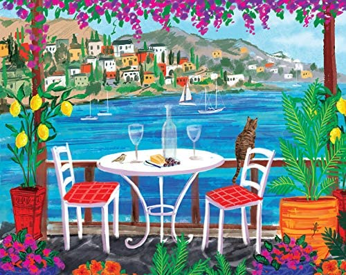 Page Publications Collection - Seaside Bistro Puzzle Games - Jigsaw Puzzles 500 Pieces for Adults - Games for Adults, Teens and Kids