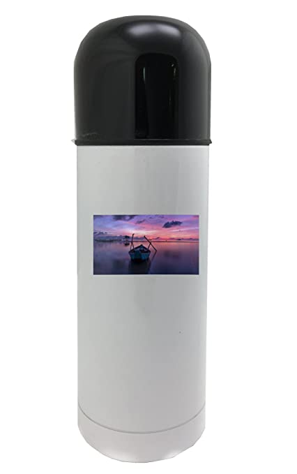 Amanecer, PHU QUOC, isla, Mar, Agua Termo, Color blanco