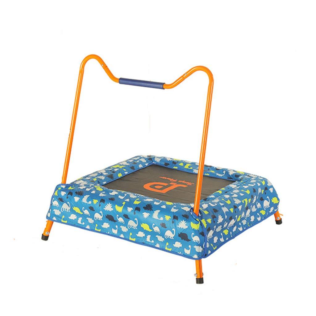Gartentrampoline Trampolin-Startseite Kinderspielzeug Indoor-Trampolin Erwachsenes Sprungbett Gymnastik-Trampolin das Bett mit Handläufen springt tragendes 35kg
