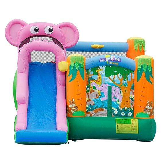 Castillos hinchables Juegos para Niños Y Niñas Tobogán para Niños ...