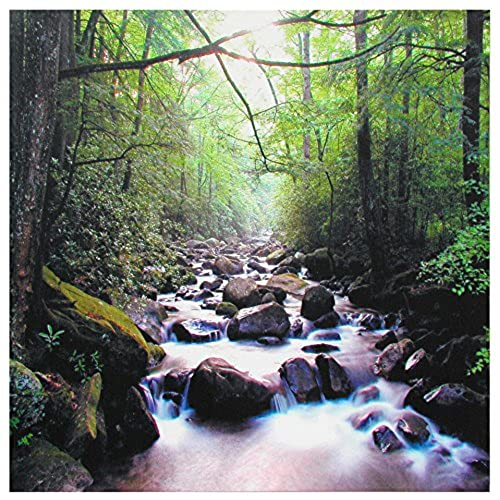 Oriental Furniture River Of Life Canvas Wall Art