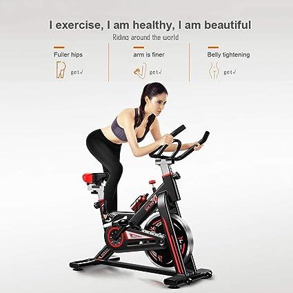 Stoge Bicicleta De Ejercicio Casa Ultra Silencioso Interior Pedal De Pérdida De Peso Bicicleta De Ejercicio Bicicleta De Spinning Bicicleta De Fitness Equipos hsvbkwm: Amazon.es: Deportes y aire libre