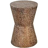 Uttermost 24461 Cutler Drum Shaped Accent Table