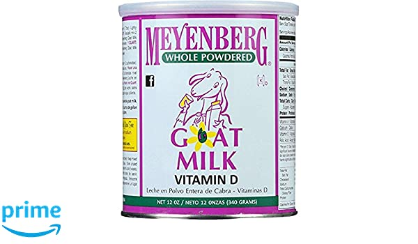 Amazon.com : Meyenberg Whole Powdered Goat Milk, Vitamin D, 12 Ounce : Grocery & Gourmet Food