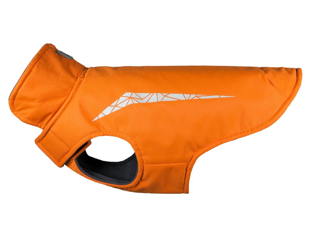 RC Pet Products Cascade Jacket Fleece Lined Water Resistant Dog Coat, Size 18, Burnt Orange