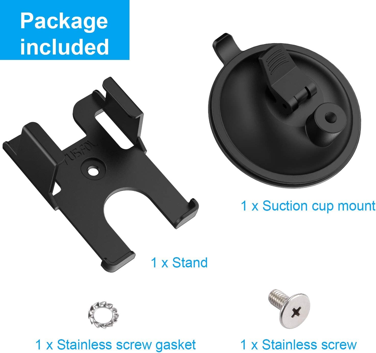 RUSFOL Powerful Suction Cup Mount,GPS Mount for STRATUX CASE