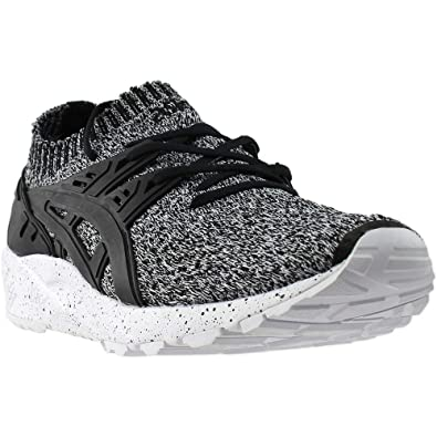 buy online b493d afa4a Onitsuka Tiger by Asics Men's Gel-Kayano Trainer Knit White/Black 4.5 D US