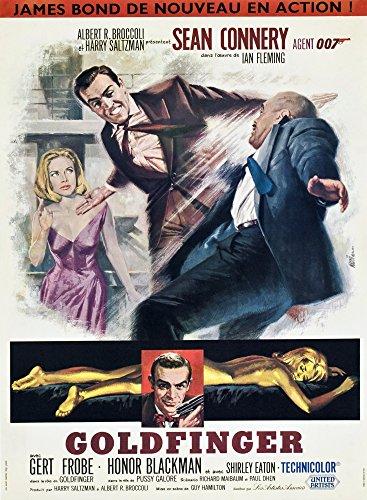 Posterazzi EVCMMDGOLDEC012 Goldfinger Movie Poster Masterprint, 11 x - Movie Goldfinger Poster