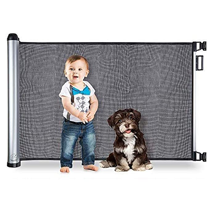 Baby Children Safety Gate Door Auto Close Swing Shut Stair Fence Pet Protection