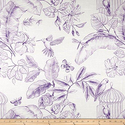 Home Accent Fabrics Menagerie Toile, Grape