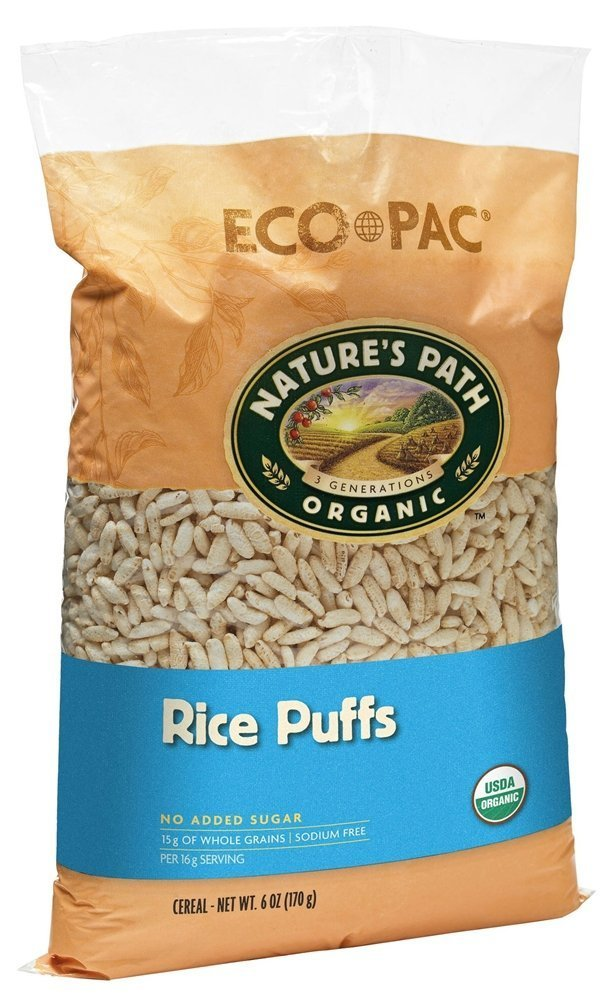 Nature's Path Organic - Cereal Rice Puffs - 6 oz (pack of 2)