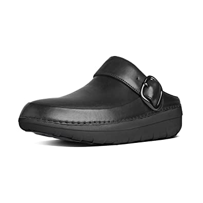 b1903ea0cc66c1 FitFlop Women s Gogh Pro Superlight Leather Clogs Black 06   Sunscreen