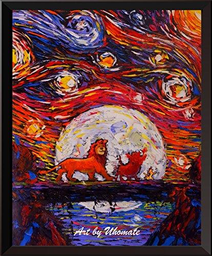 Uhomate The Lion King Simba Lion King Poster Vincent Van Gog