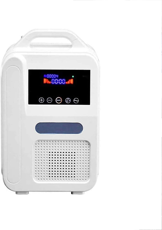 XXGJK Concentrador De Oxígeno Portátil, Generadores O2, Purificador De Aire, Ventilador, Mini Máquina De Oxígeno para El Hogar