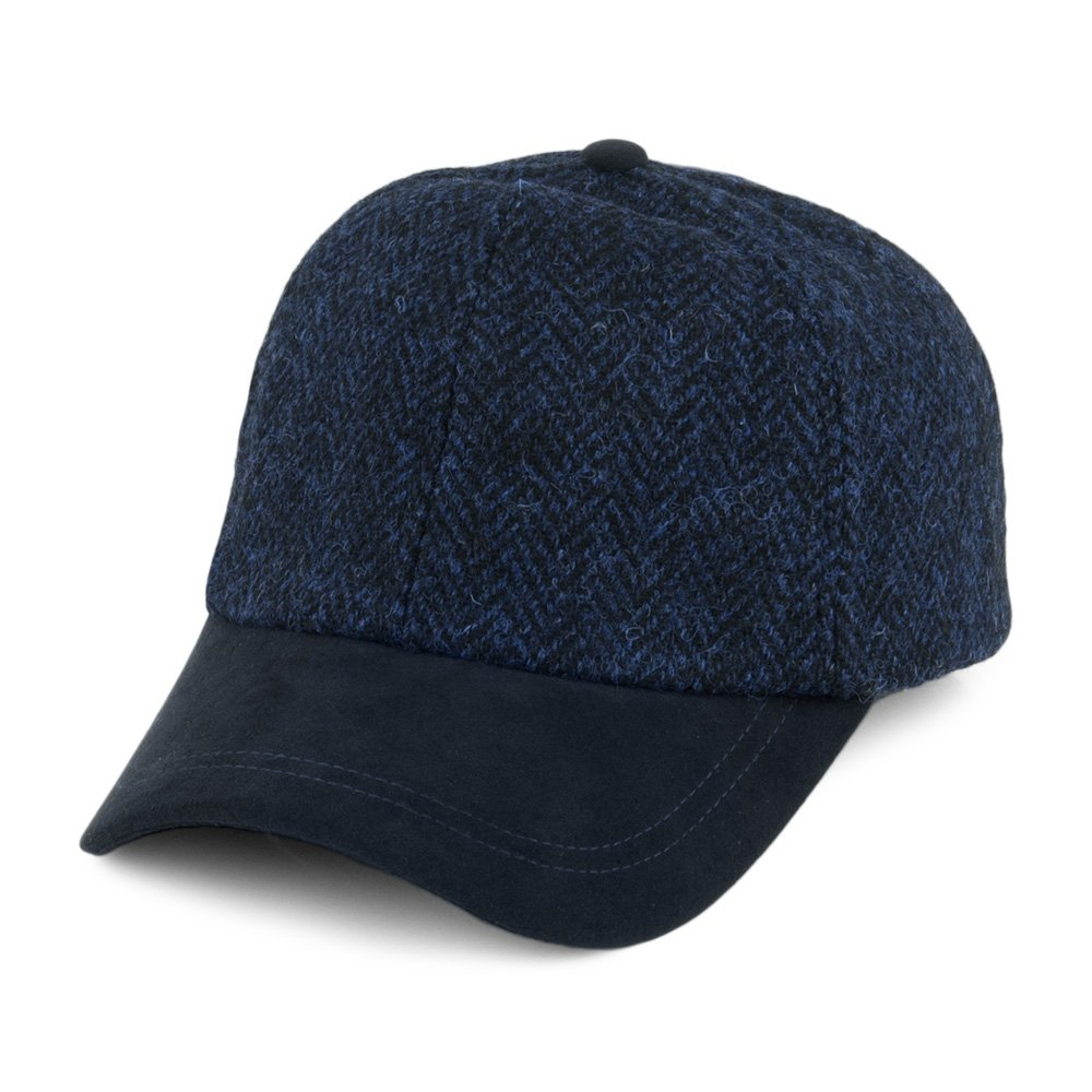 Failsworth Gorra de béisbol Tweed Mezcla de Azules - Ajustable ...