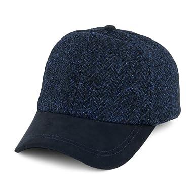 Failsworth Gorra de béisbol Tweed Mezcla de Azules - Ajustable ...