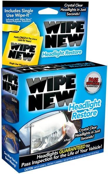 Wipe New HDL6PCMTRRT Headlight Restore Kit 61qzgfeVmfL