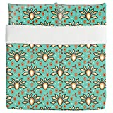Cultural Origins Duvet Bed Set 3 Piece Set Duvet Cover - 2 Pillow Shams - Luxury Microfiber, Soft, Breathable