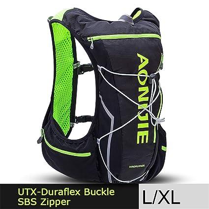 XUSHSHBA Outdoor Camping Hiking Bag Bicycle Cycling Bags Backpack Vest Professional Marathon Running Backpack 10L LXL