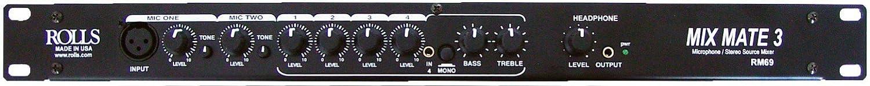 Rolls RM69 Mixmate 3 Mic Source Mixer